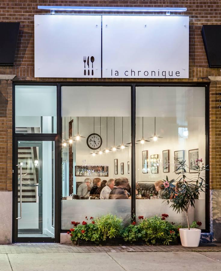 Restaurant La Chronique façade