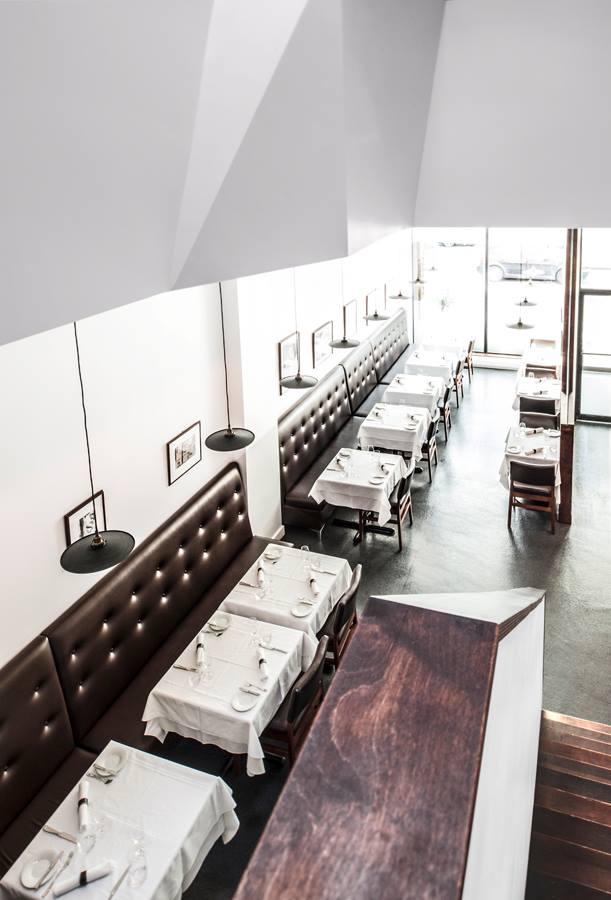 La Chronique - vue restaurant
